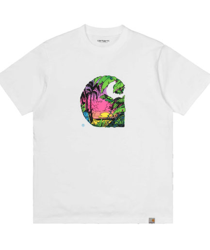 CARHARTT SUNSET C T-SHIRT