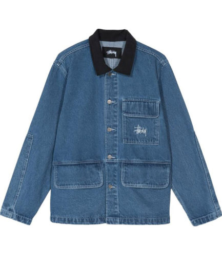 STUSSY DENIM CORE COAT
