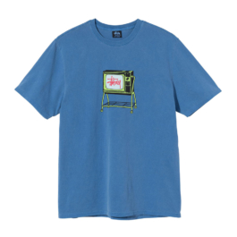 STUSSY ROLLING TV PIG DYED TEE